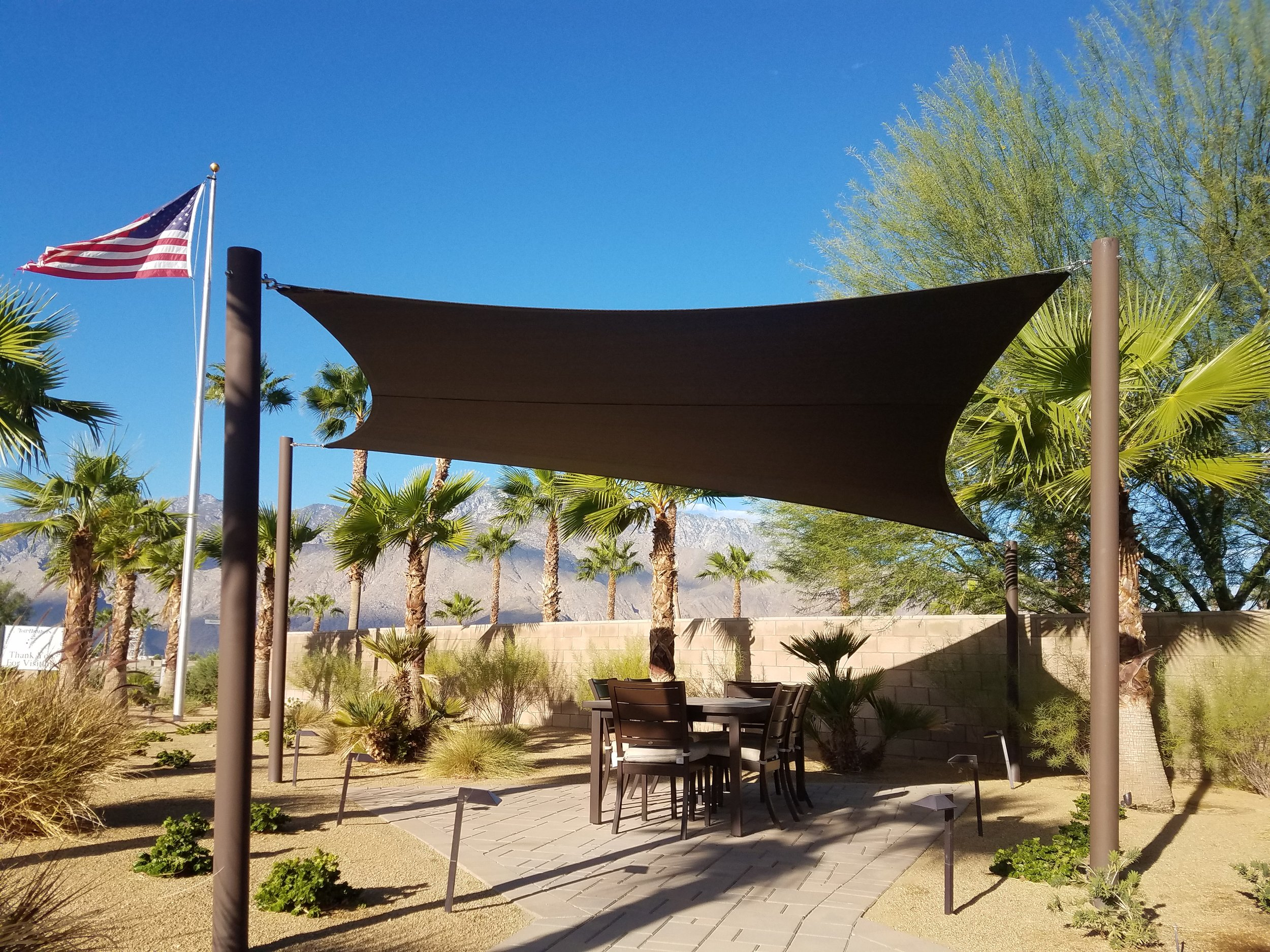 American made shade sail Palm Springs, CA 92264