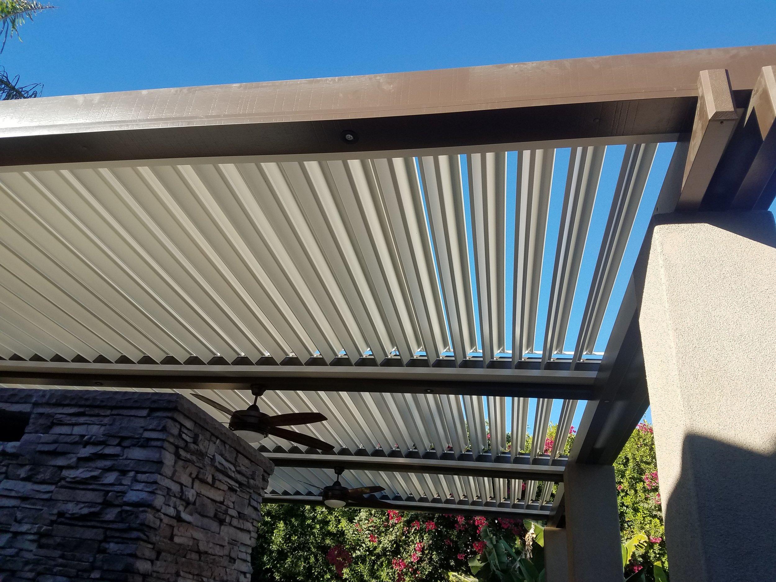 Apollo louvered roof Palm Desert