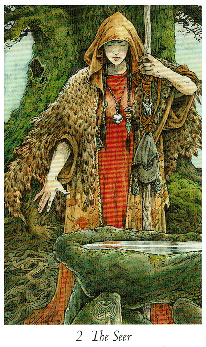 The Seer - Wildwood Tarot