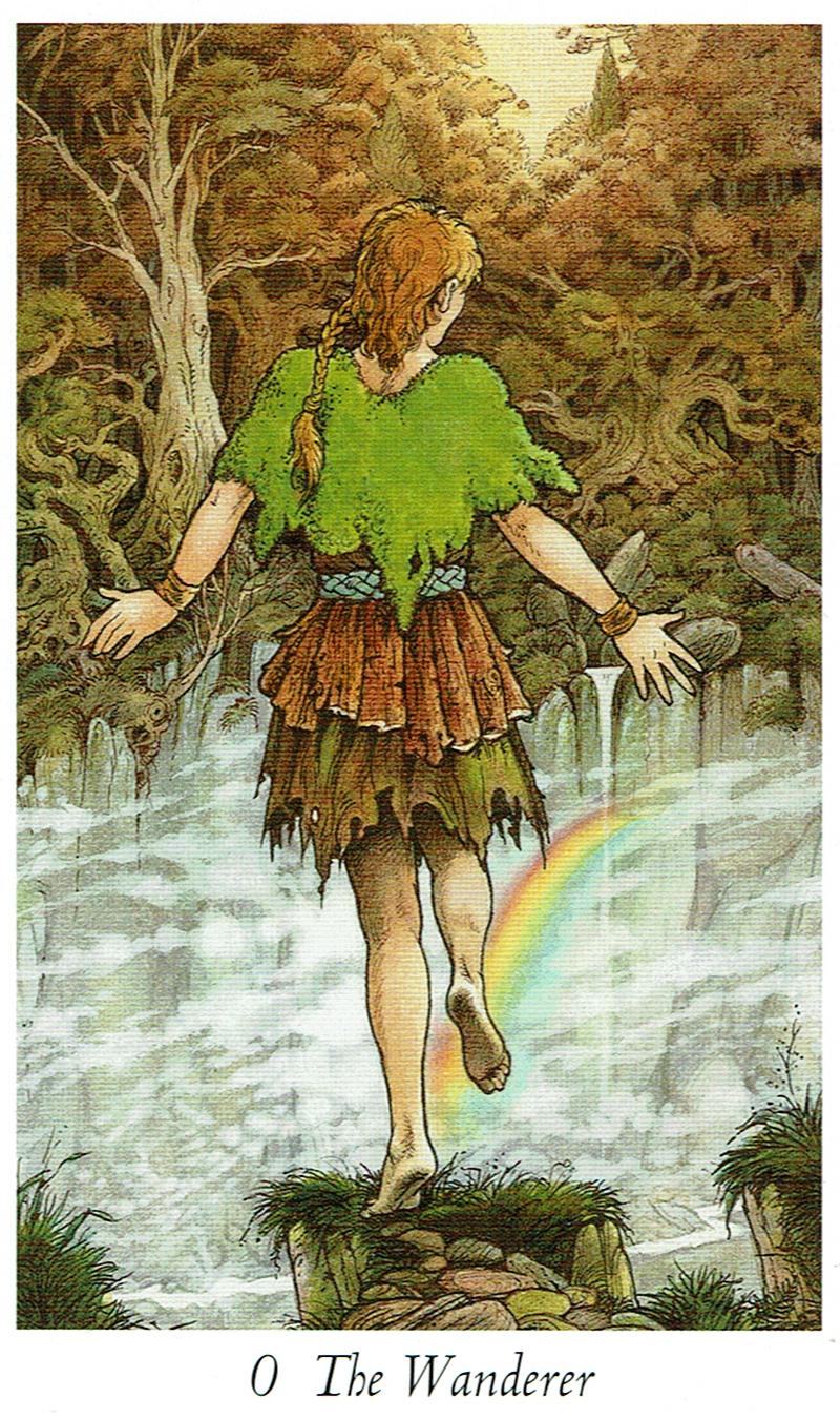 The Wanderer - Wildwood Tarot