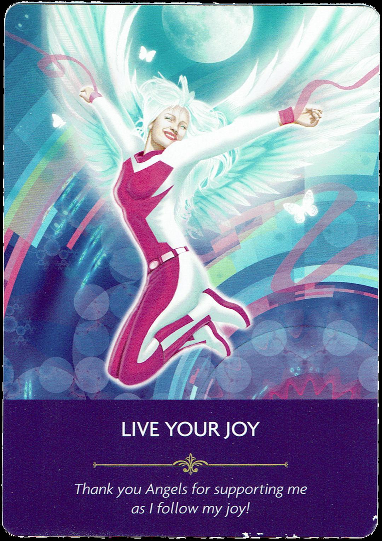 Live Your Joy - Angel Prayers Oracle
