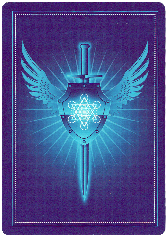 Card Back - Angel Prayers Oracle