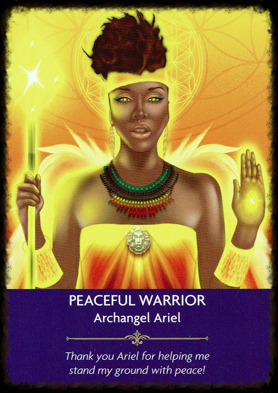 Peaceful Warrior - Archangel Ariel - Angel Prayers Oracle.png