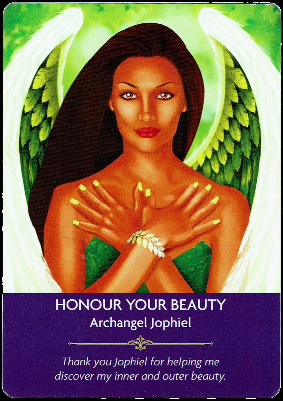 Honour Your Beauty - Archangel Jophiel