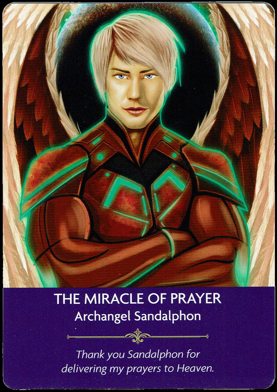 Miracle of Prayer - Archangel Sandalphon