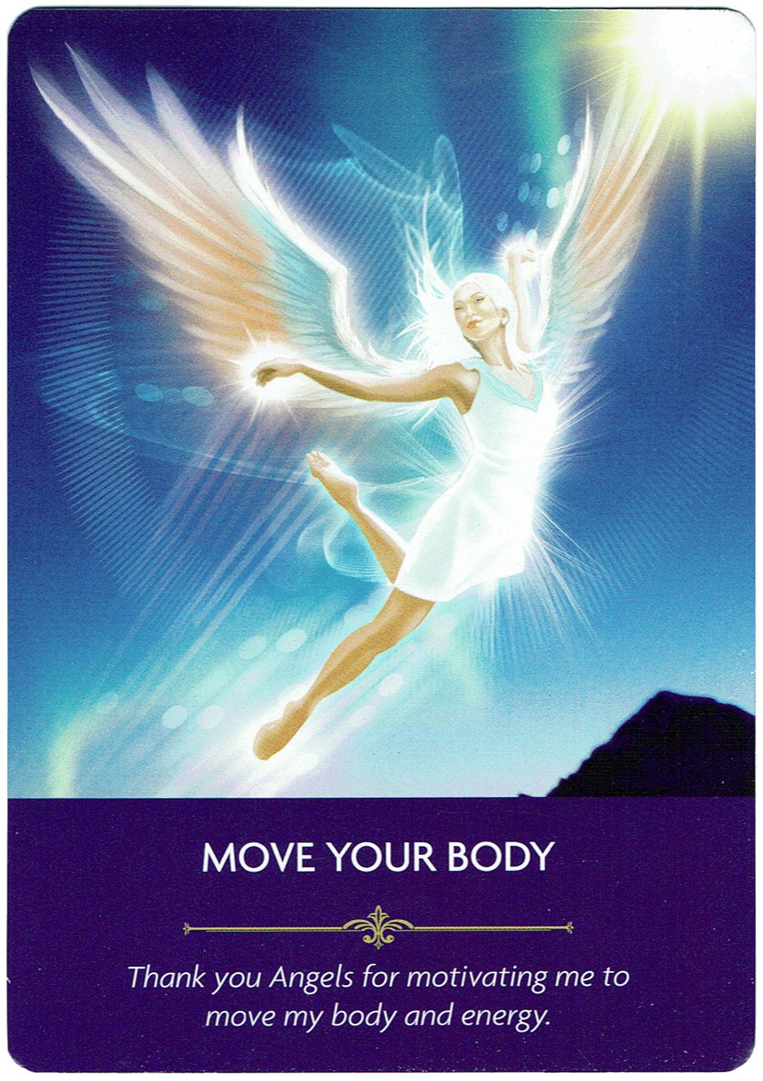 Move Your Body - Angel Prayers Oracle