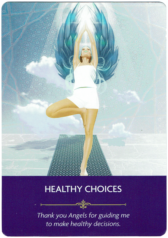 Healthy Choices - Angel Prayers Oracle