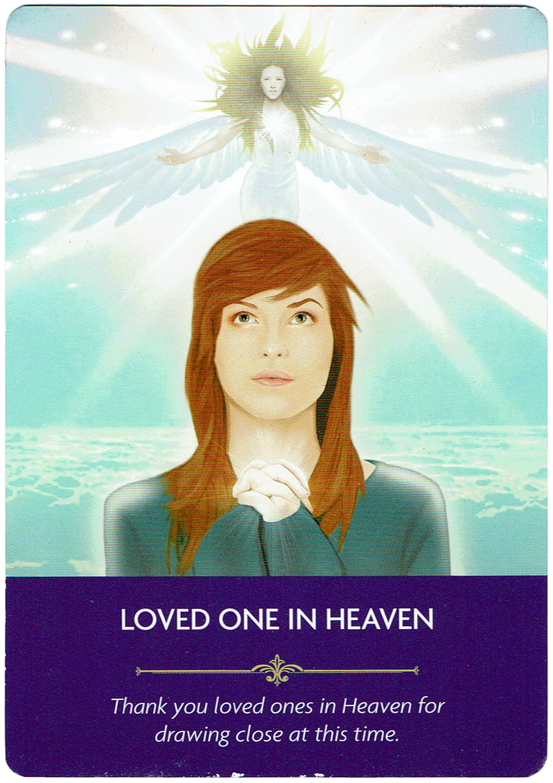 Loved One in Heaven - Angel Prayers Oracle