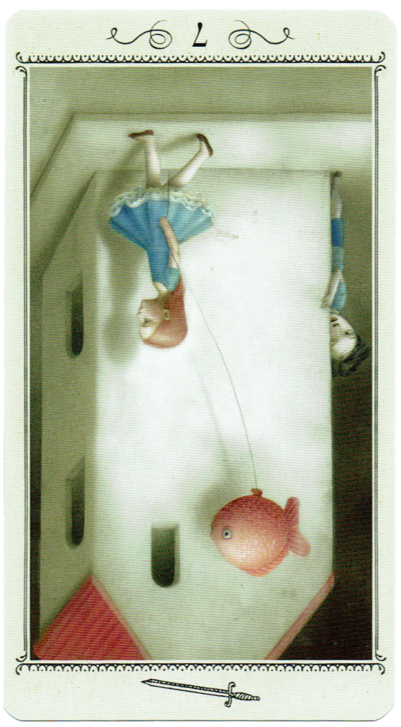 Seven of Swords - Reversed - Nicoletta Ceccoli Tarot
