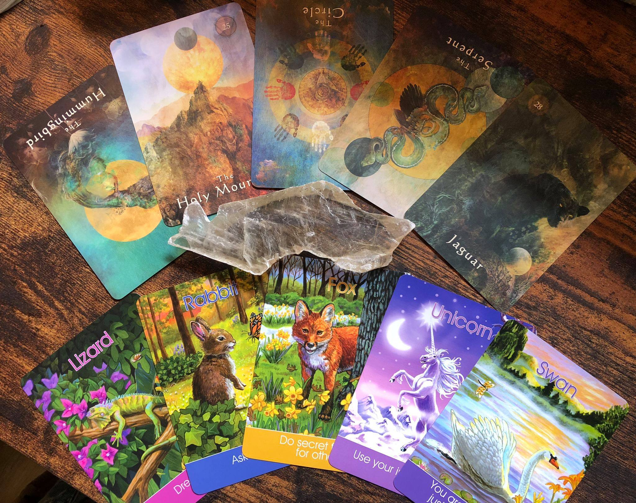The Mystical Shaman Oracle and The Children's Spirit Animal Deck