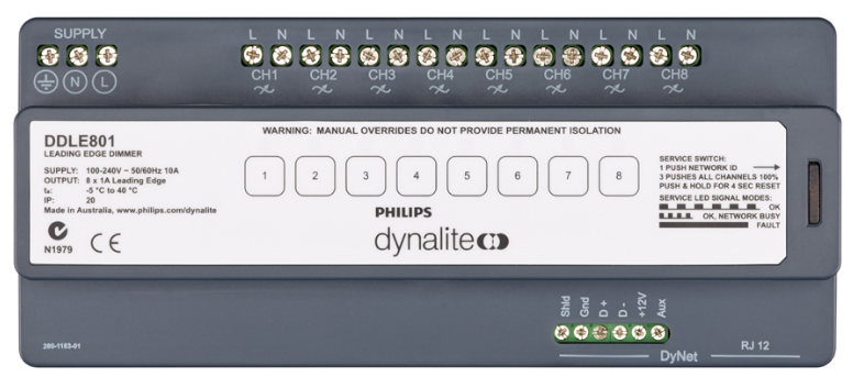DDLE801 Leading Edge Dimming Controller - made for LEDs.