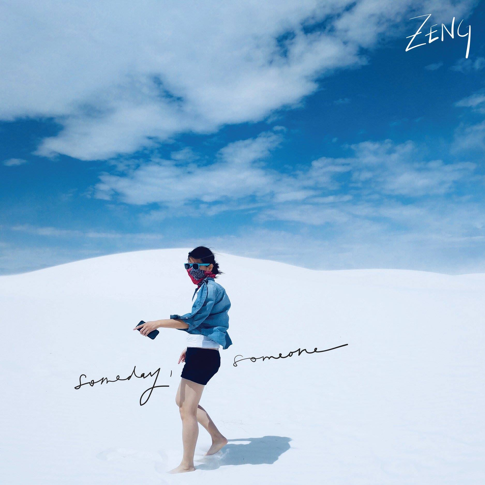 Zeng: Someday, Someone (SINGLE)   Credits: Engineer, Production, Mix, Electric Guitar, Bass, Acoustic Guitar, Piano, Synth, Drum Programming