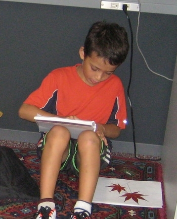 We asked the student to work silently and in a limited time frame in order to zoom in their focus.