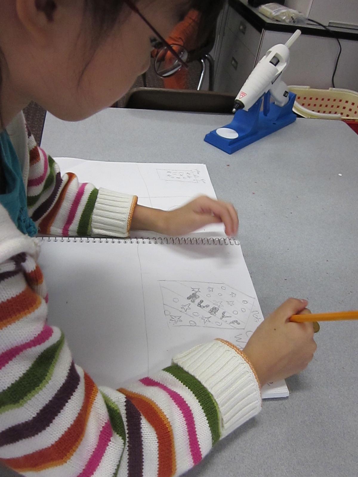Students evolved sketch prototypes based on feedback.