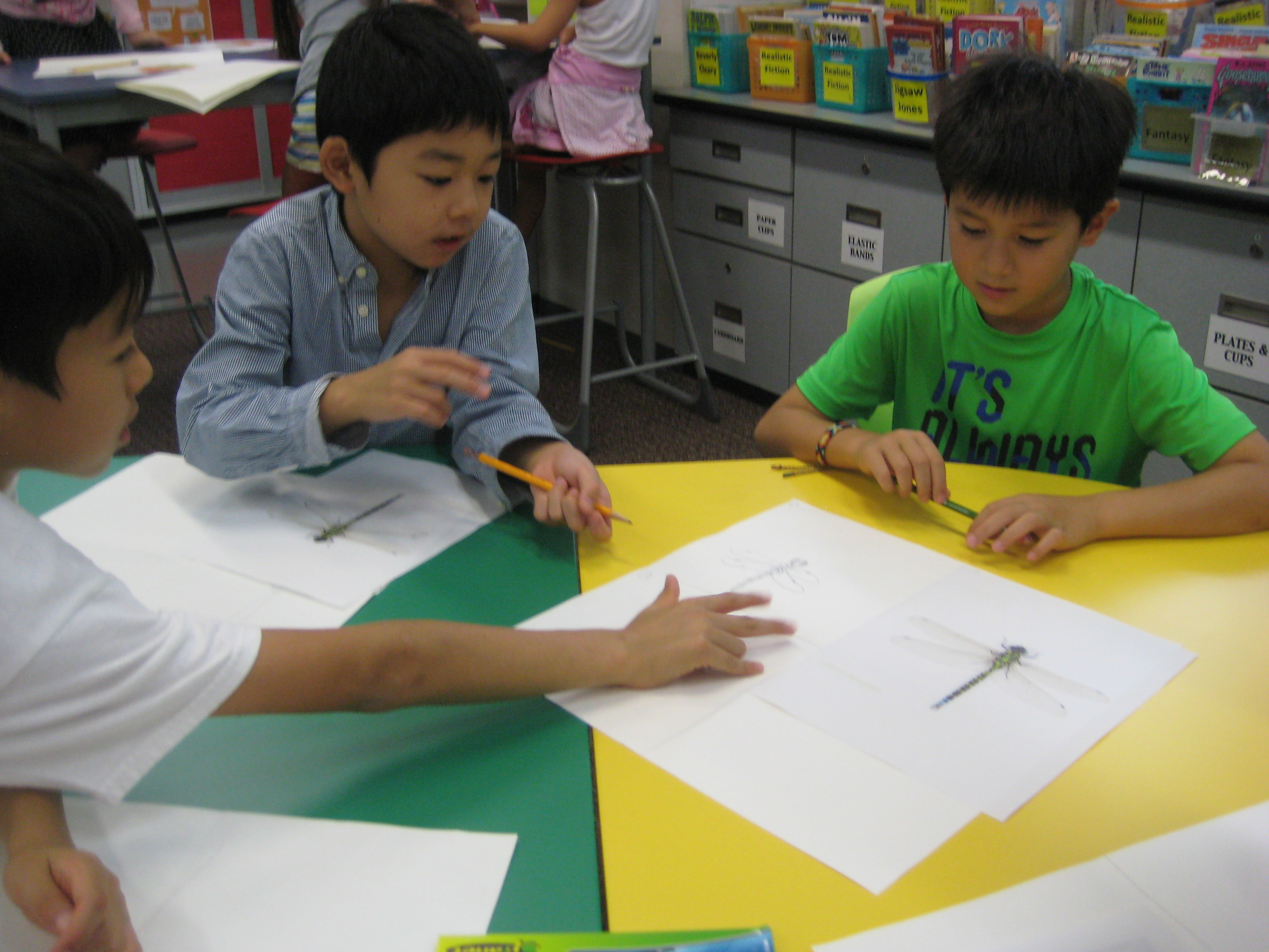 Children practice using the big three: KIND, SPECIFIC and USEFUL.