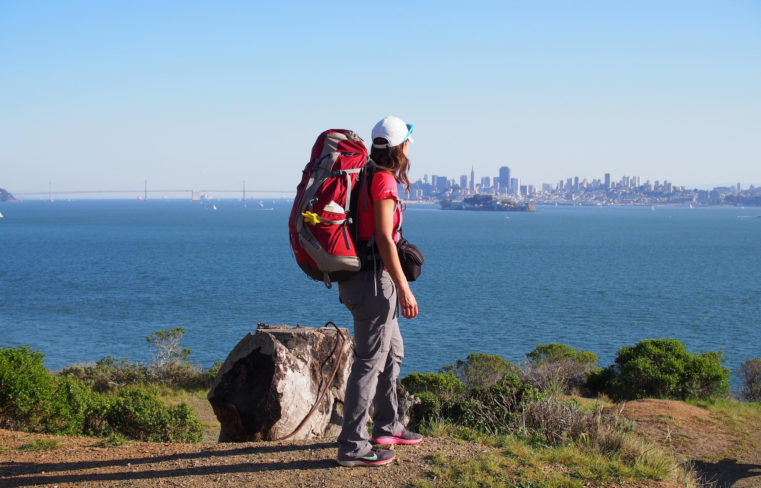 Angel Island hiking