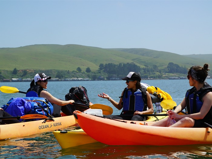 <B>POINT REYES KAYAK CAMPING</B>