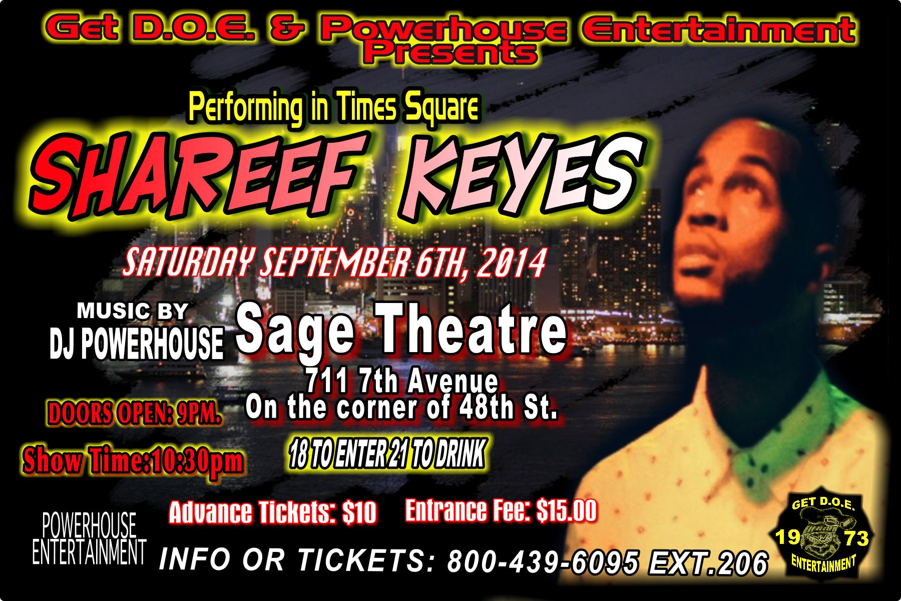 COME OUT TO MY SHOW THIS SATURDAY NIGHT!!!  IT WILL BE A VERY FUNKAFIED EXPERIENECE
