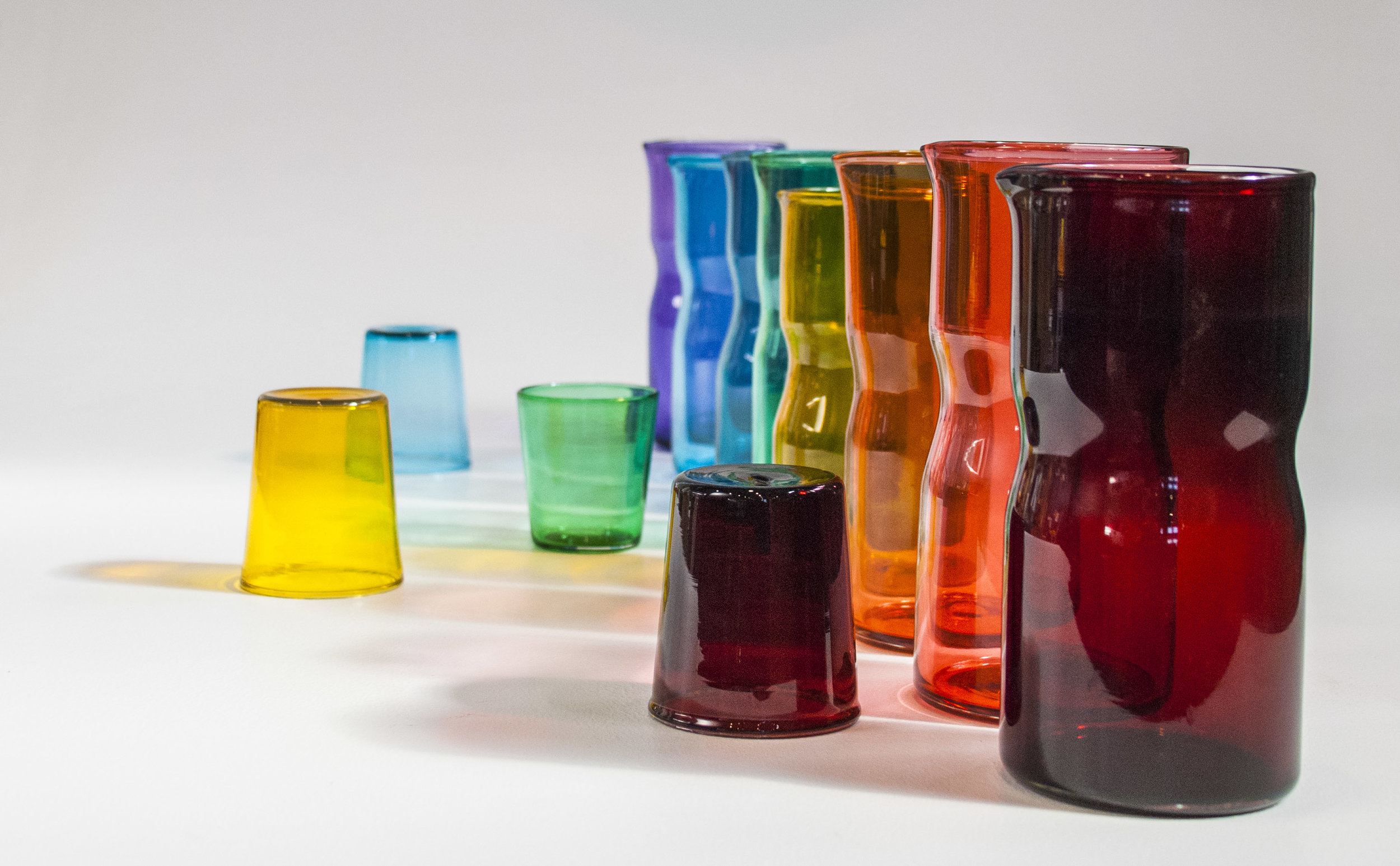 Series - Current series of blown glass work.