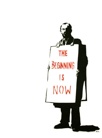 The Beginning is Now