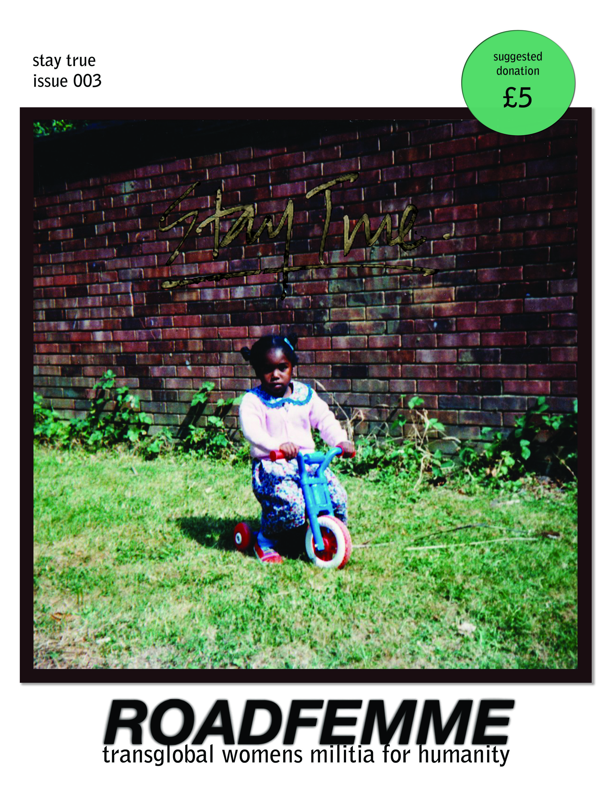 baby swanzy on cover for issue 003