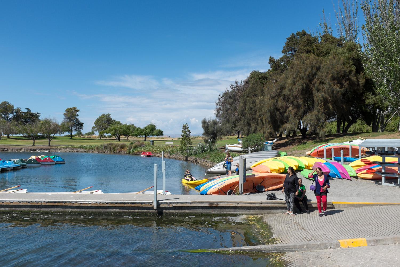 Shoreline Lake, Near Google Campus