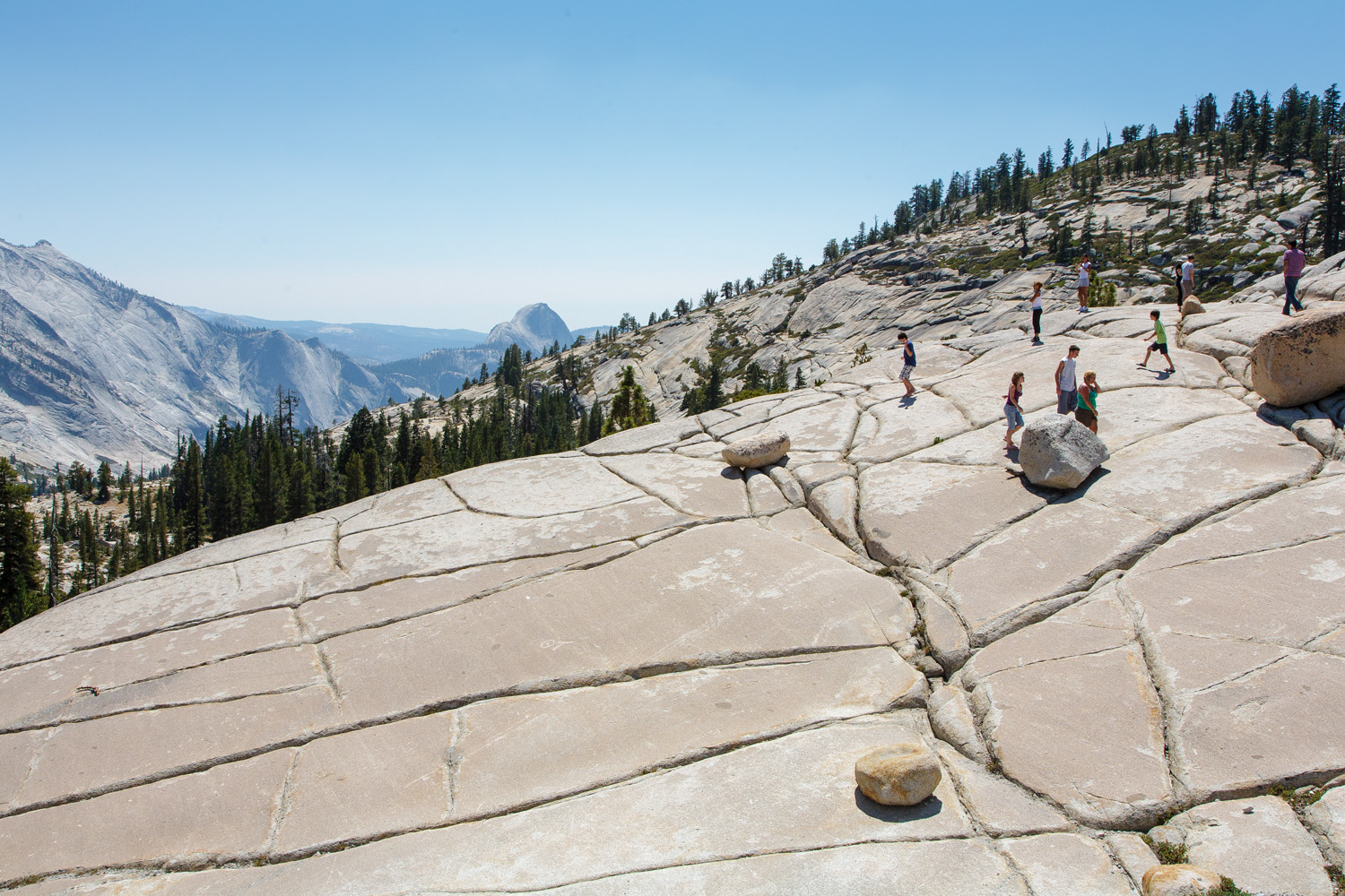 Olmsted Point, Yosemite Park