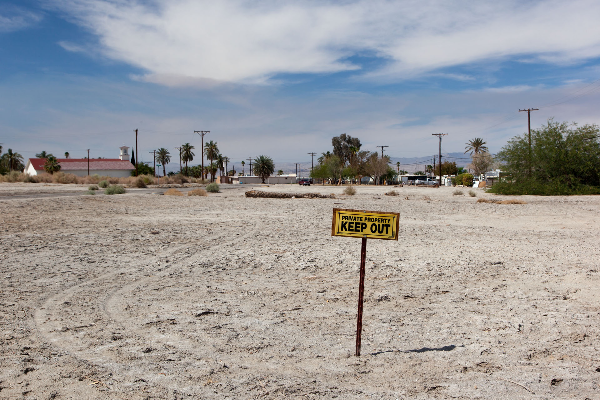 Private Property, Salton City