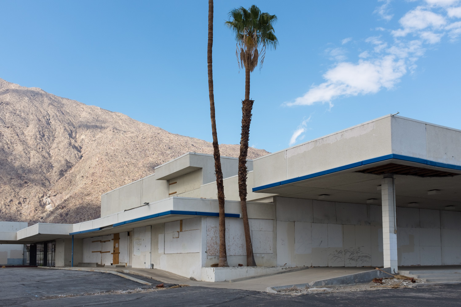 Former Chevrolet Dealer, Palm Springs.