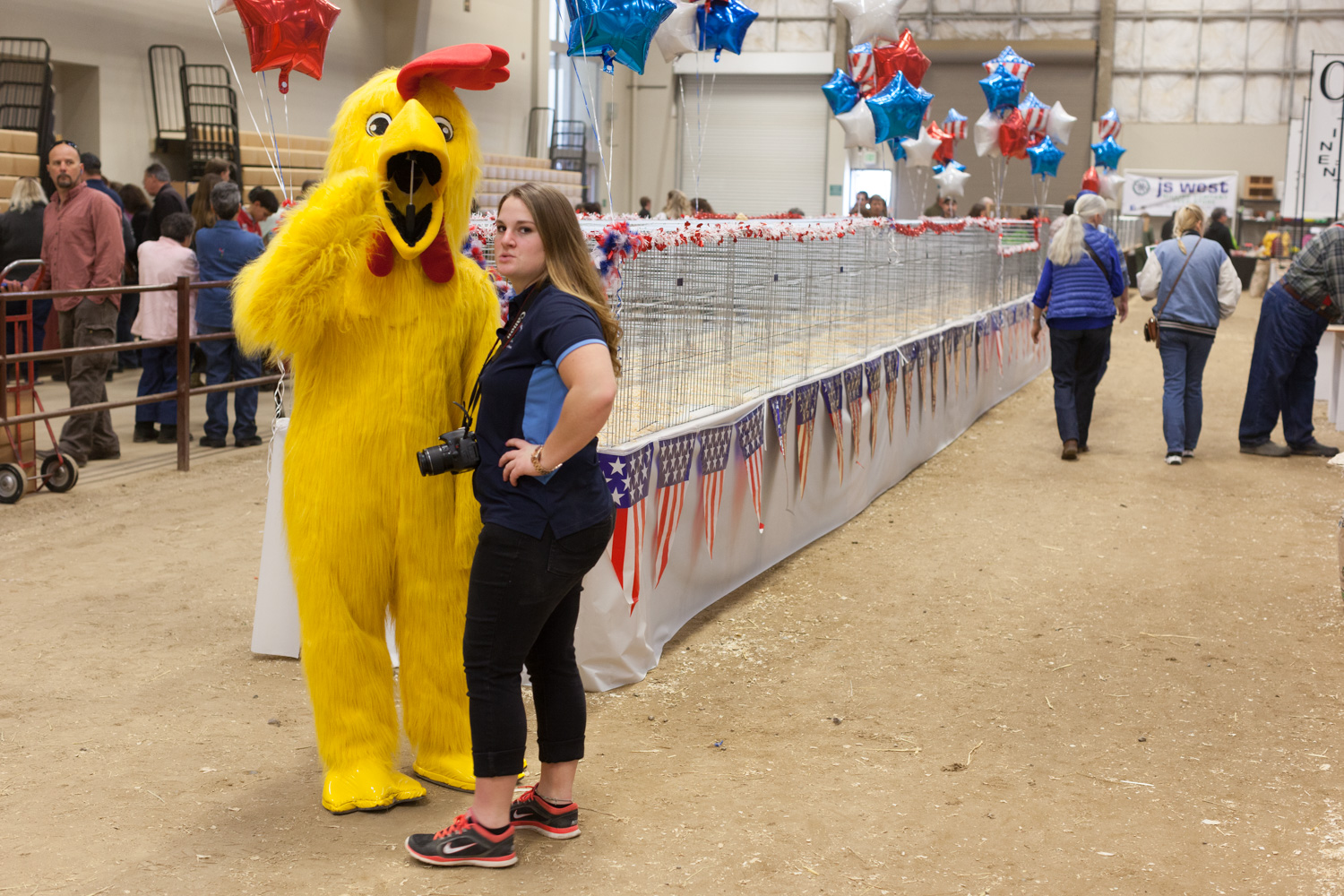 Mascot, Pacific Poultry Breeders Show, Modesto