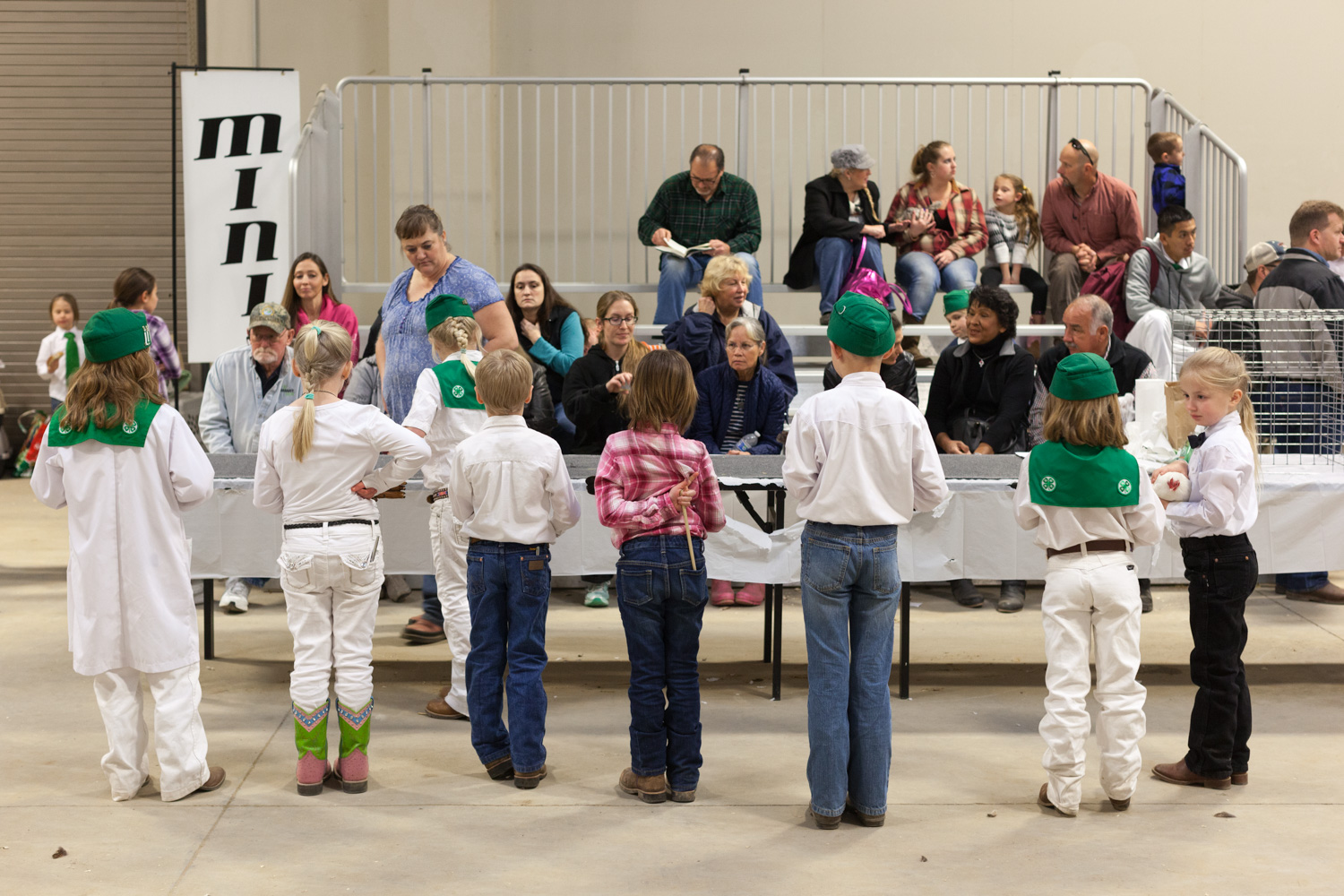 Youth Division, Pacific Poultry Breeders Show, Modesto