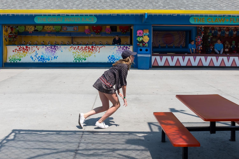 Lunge, Santa Cruz Boardwalk