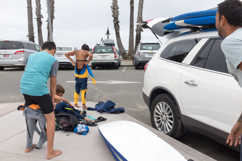 Cowell Beach, Santa Cruz