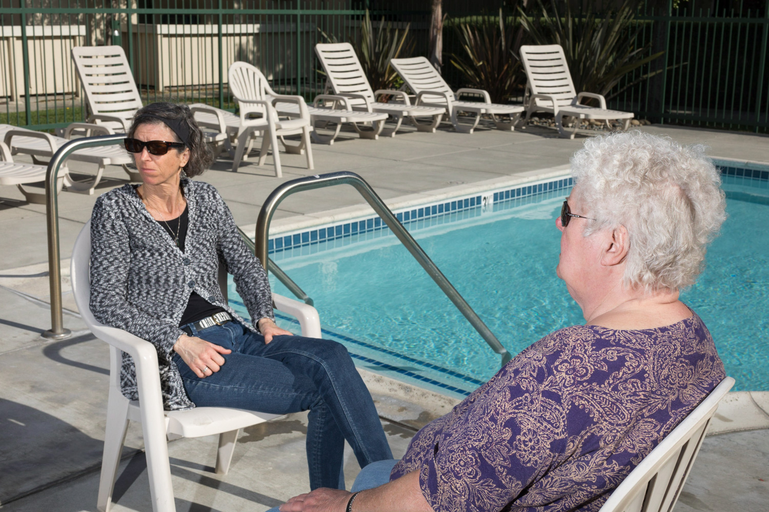 Poolside, March 18.