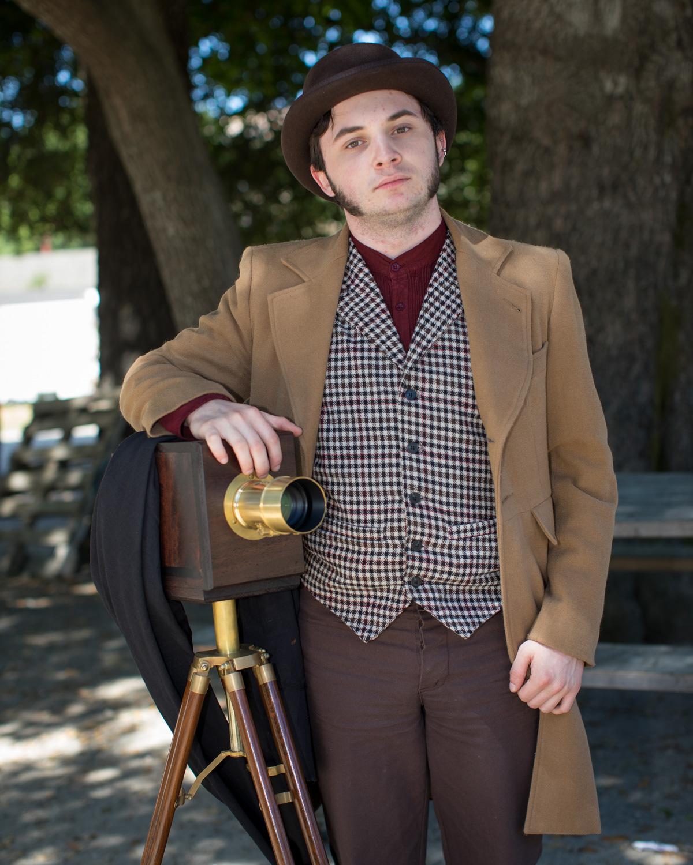 Photographer Reenactor, Felton.