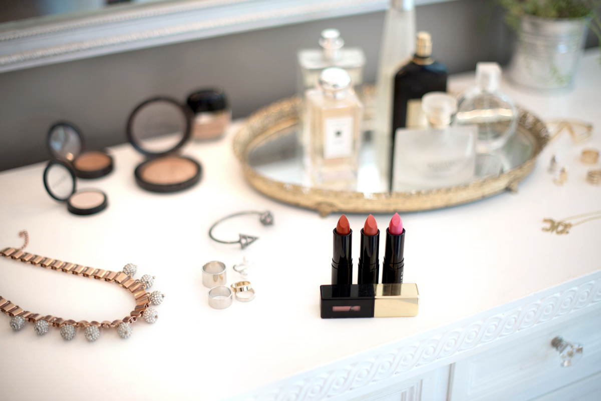 JEWELS:  Rachel Mulherin Necklace ,  Love Juliet Rings & Monogram Neckalce ,  House of Bourgeois Cuff & Nail Ring    LIPS:  Shien  Gold Viper  ,  Shangai Rose  ,  Pink Jade