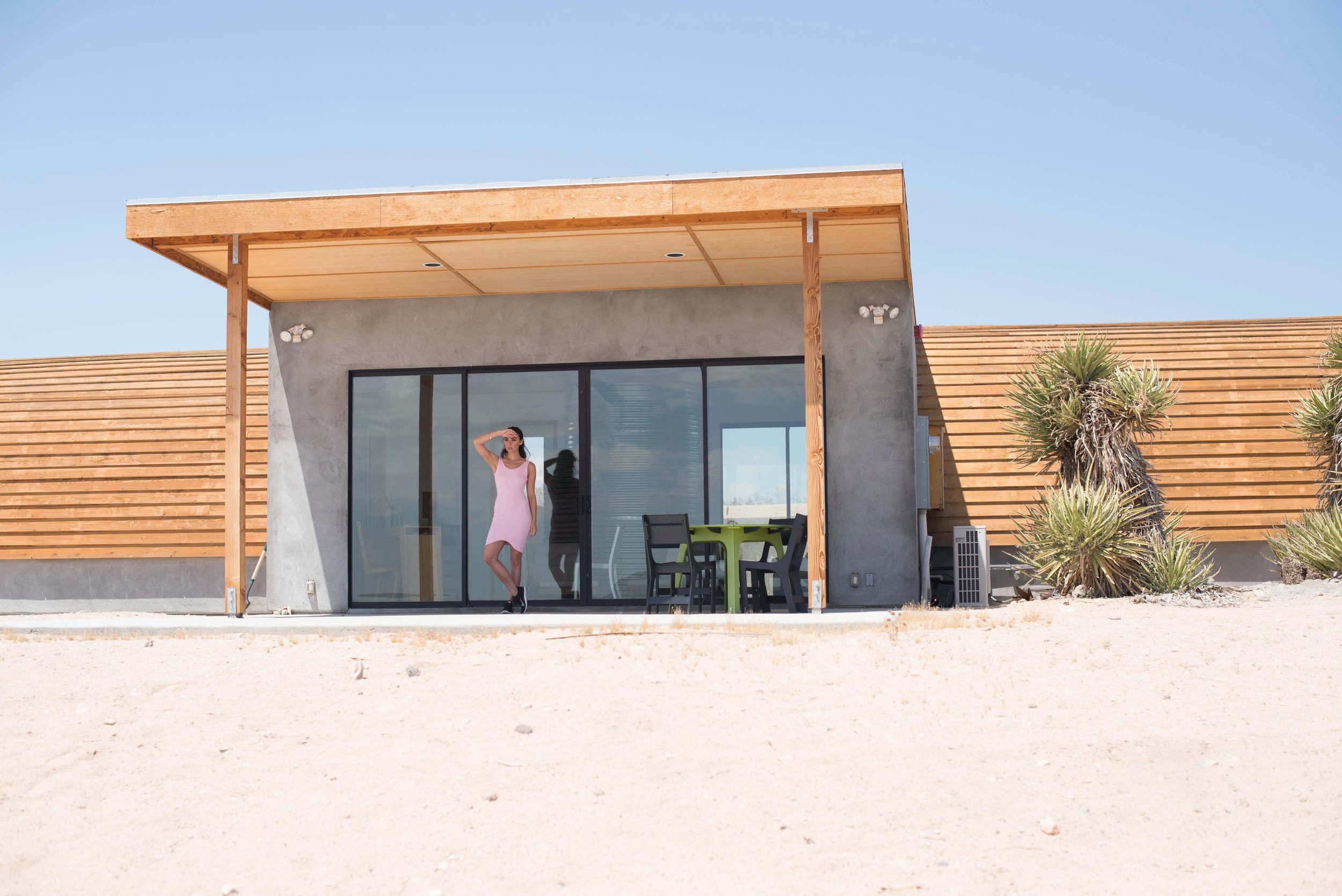 modern architecture in the desert