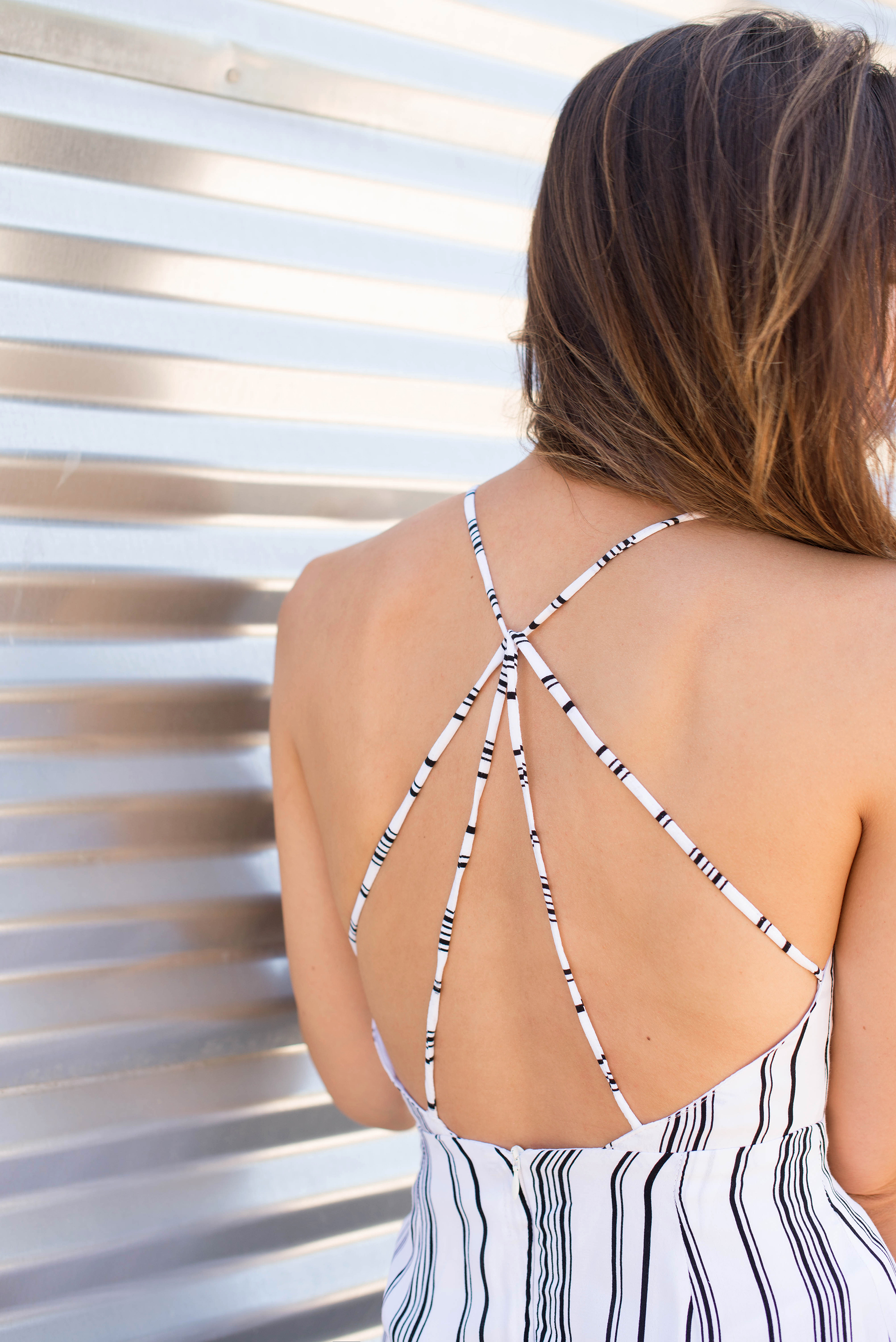 street style strappy back details