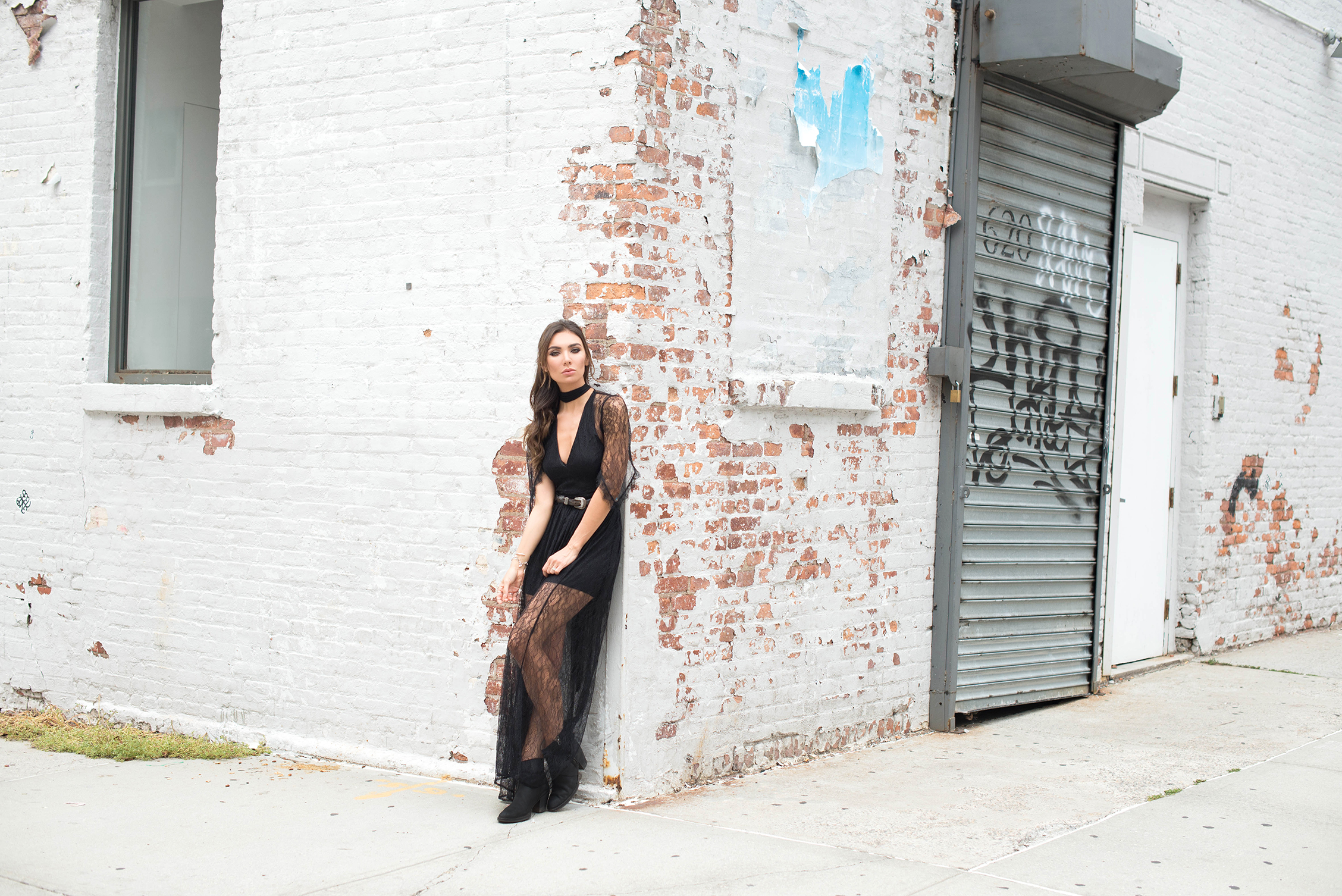 DRESS.   BELT  (vintage, similar here),  SHOES.   SCARF.   BAG.