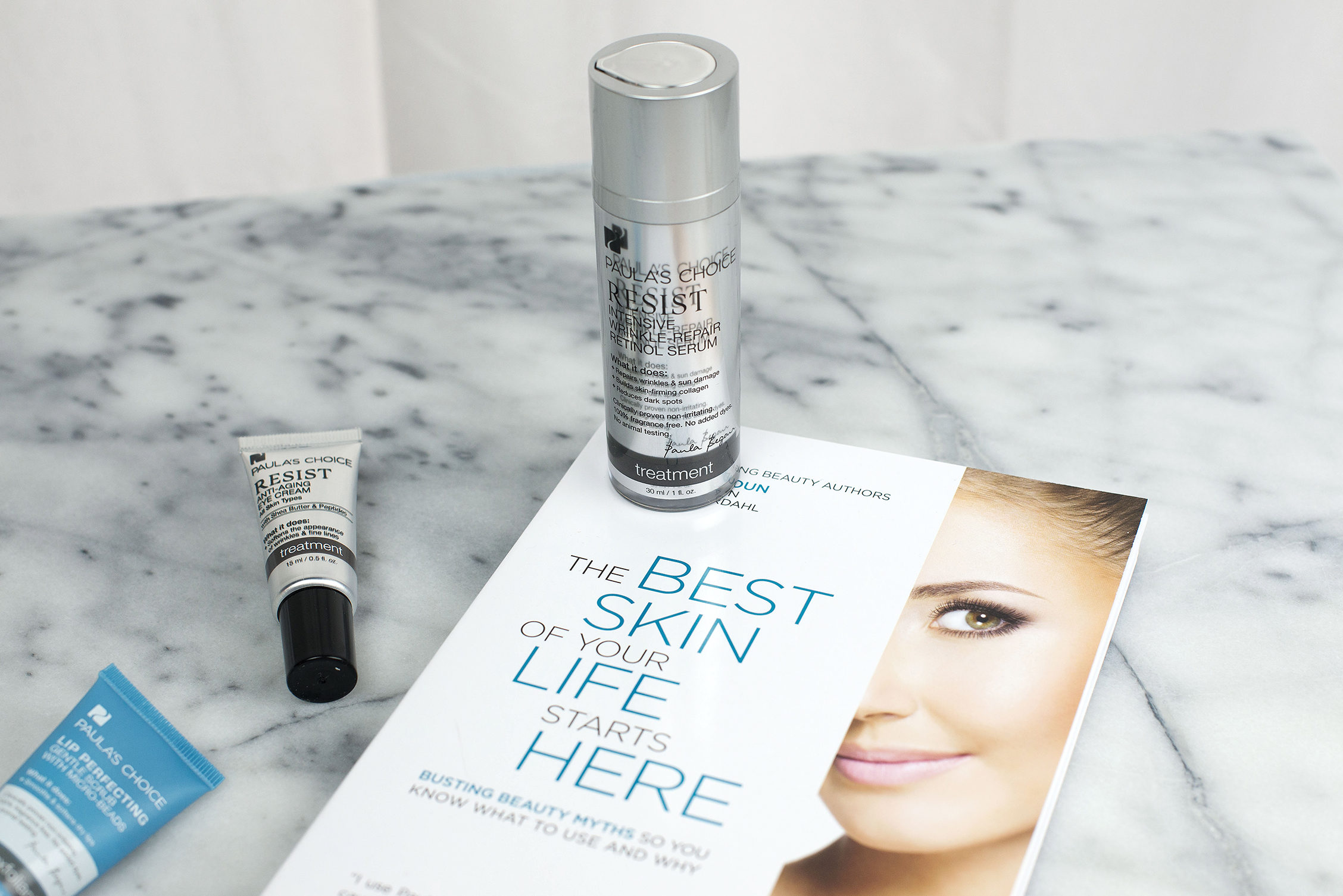 Resist Anti-Aging Eye Cream  ,   Resist Intensive Wrinkle-Repair Retinol Serum  ,   The Best Skin Of Your Life Starts Here Book  .