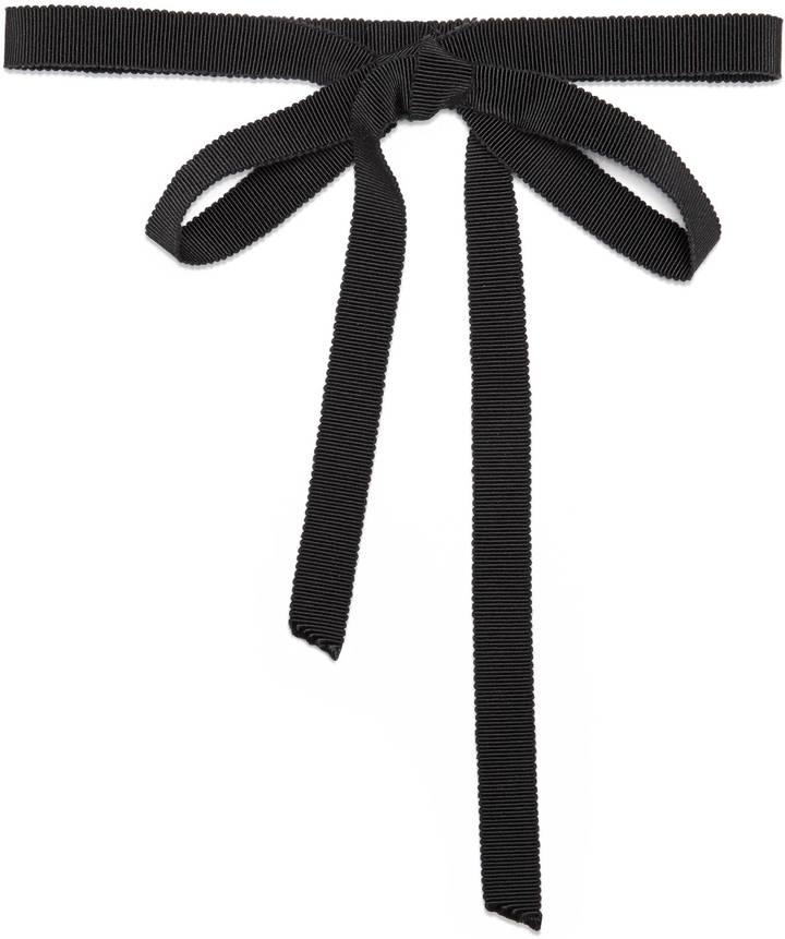 Grossgrain Neck Bow