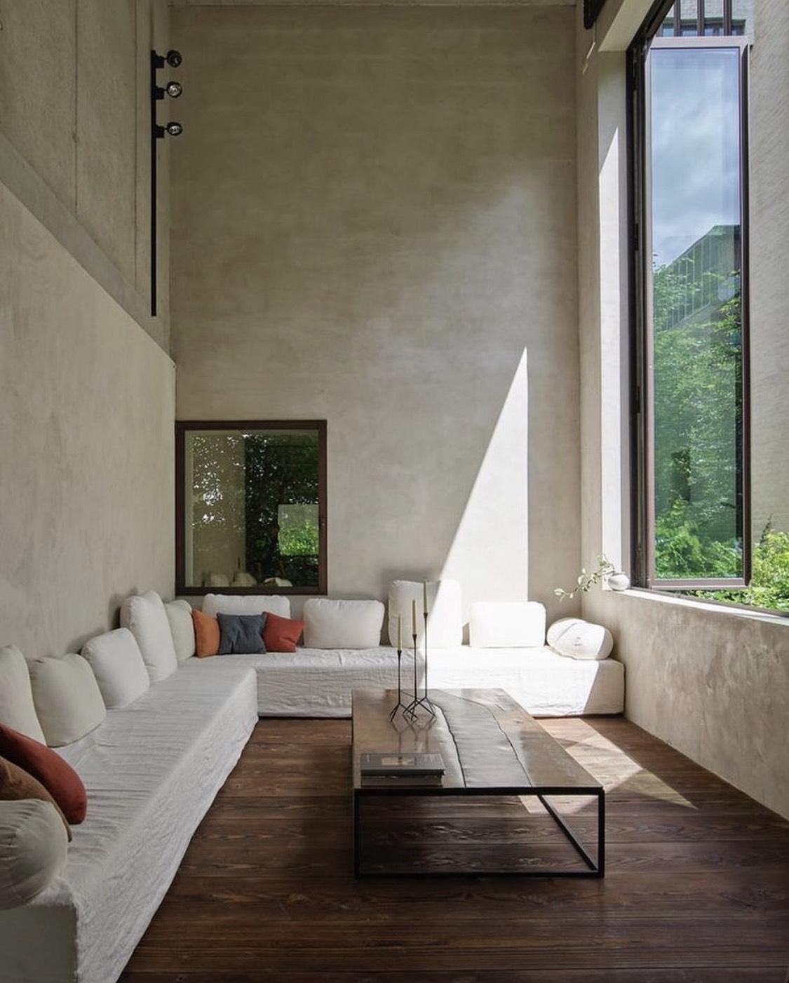 Space designed by Axel Vervoordt