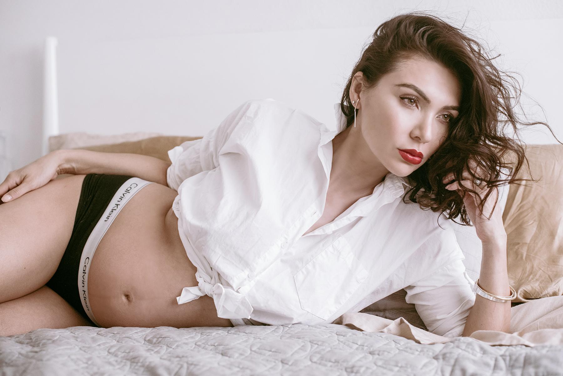Serafina Earrings   ,    Uma Bangle Set   ,    Calvin Klein Underwear   ,    Ralph Lauren Button Up