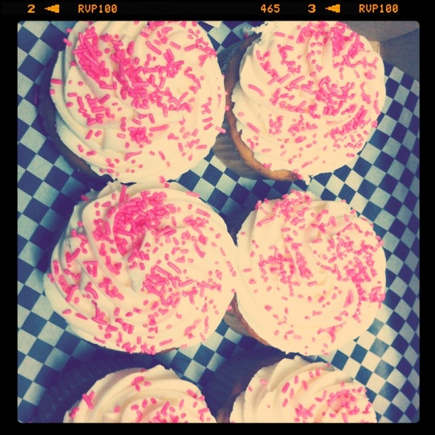 Cupcakes from my favorite bakery from my Mom & Dad