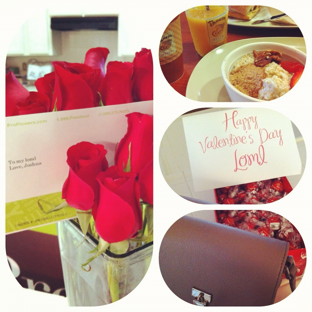 Last year a day of Valentines with my sweet husband.
