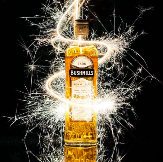 Light up the last night of 2016. #AnswerTheCall #WhiskeyAllTheWay