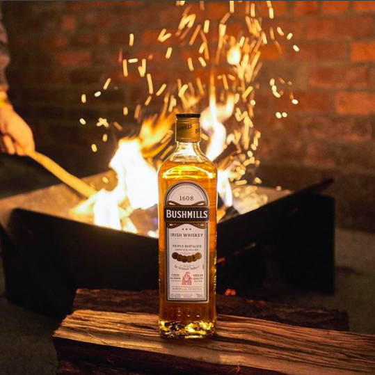 When the weather cools down but you're on fire. 🔥  #AnswerTheCall #WhiskeyAllTheWay