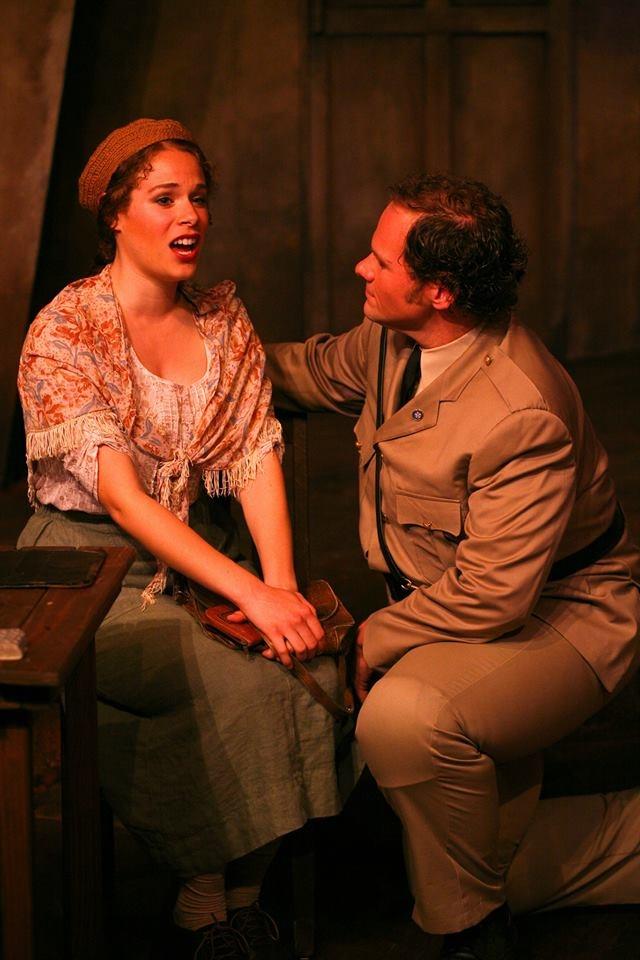Carmen,  with Mark Kratz,Photo by Eric Chazankin