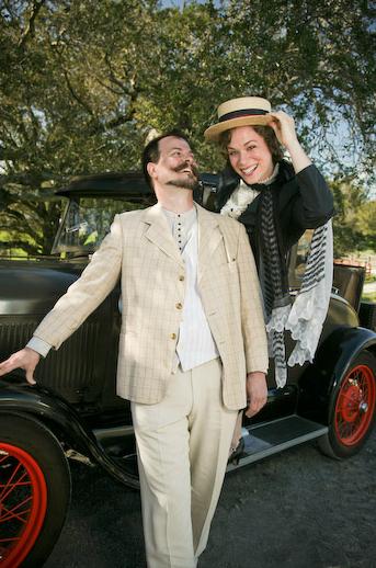 Marriage of Figaro  promo shot, with Eugene Walden,Photo by Eric Chazankin