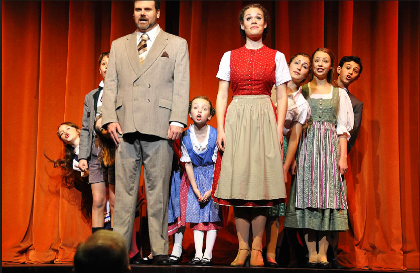 The Sound of Music, with Dan LeGate, Photo by Linda Carter
